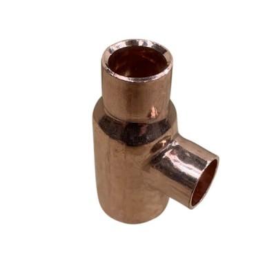 "20mm X 15mm X 15mm 1/2"" Copper Capillary Tee W27"
