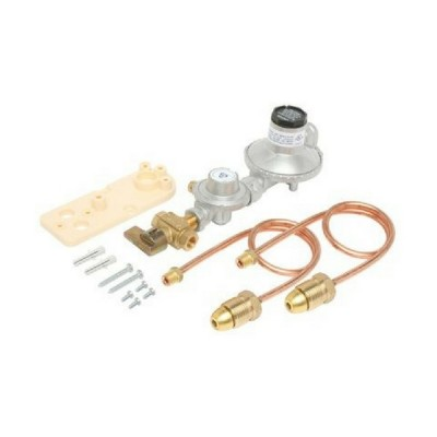250Mj-Hr LPG Adjustable Regulator Dual Stage Manual Change Over Bromic 6060534