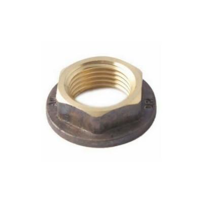 25mm Brass Lock Nut Flanged BSP