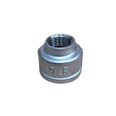 "25mm X 10mm 3/8"" Socket Reducing BSP Stainless Steel 316 150lb"