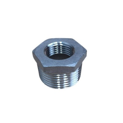 "25mm X 15mm 1/2"" Bush Reducing BSP Stainless Steel 316 150lb"