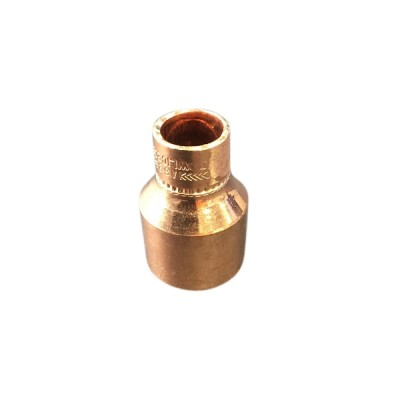 "25mm X 15mm 1/2"" Copper Reducer M&F"