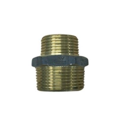 25mm X 20mm Brass Hex Nipple