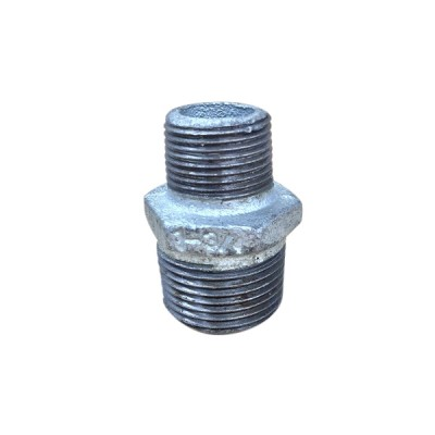 25mm X 20mm Galvanised Hex Nipple Reducing