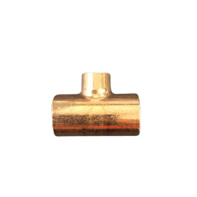 """25mm X 25mm X 15mm 1/2"""" Copper Tee W25"""