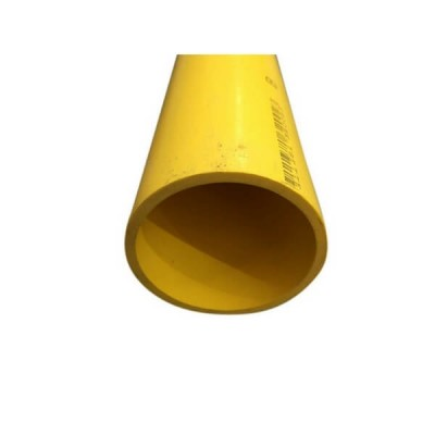 25mm Yellow Gas Pipe Pvc Solvent Weld 6m
