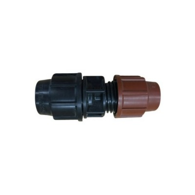 "25P X 12mm 1/2"" Copper Coupling Plasson Metric Poly"