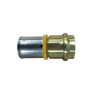 32mm Gas Pex To 32mm Copper Crimp Adaptor