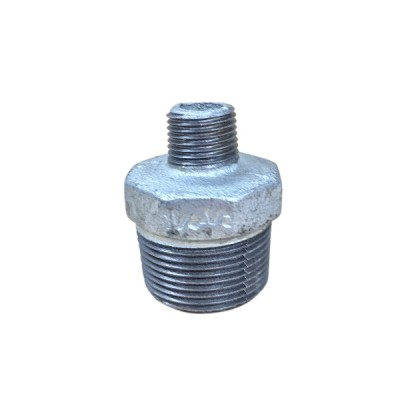 32mm X 15mm Galvanised Hex Nipple Reducing