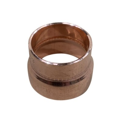 32mm X 25mm Copper Reducer M x F High Pressure Capillary