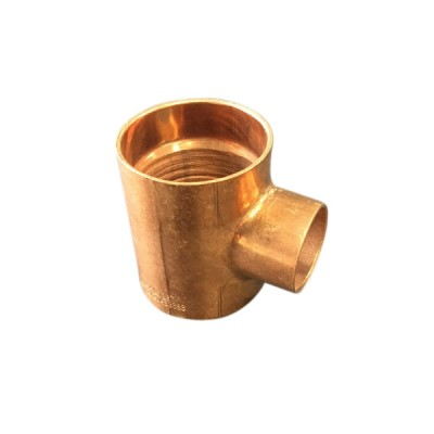 32mm X 25mm Copper Tee Reducing