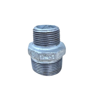 32mm X 25mm Galvanised Hex Nipple Reducing