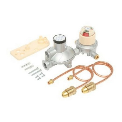 400Mj-Hr LPG Adjustable Regulator Dual Stage Auto Change Over Bromic 6060545