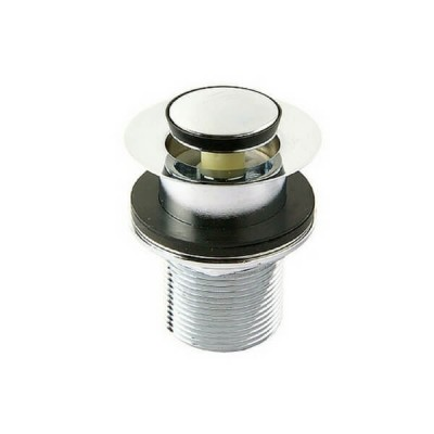 40mm Basin Bath Plug & Waste Cp Pop Up