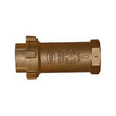 40mm Dual Check Valve F&F Watermark Zurn Model 700