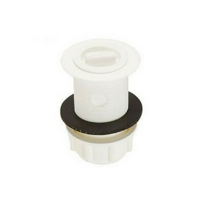 40mm Pvc Basin Bath Plug & Waste White