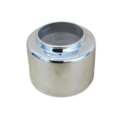 40mm Raised Cover Plate Flange Chrome Suit PVC 17461