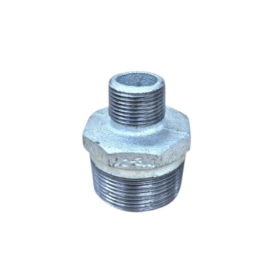 40mm X 20mm Galvanised Hex Nipple Reducing