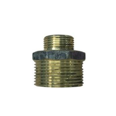 40mm X 25mm Brass Hex Nipple