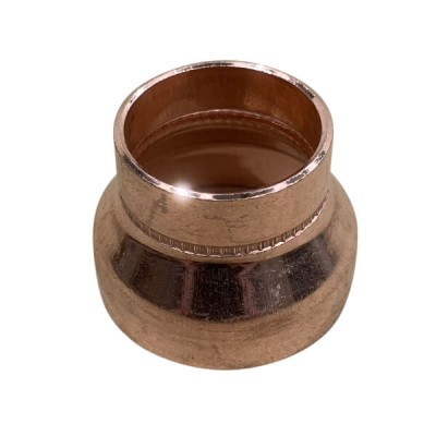 40mm X 25mm Copper Reducer M x F High Pressure Capillary