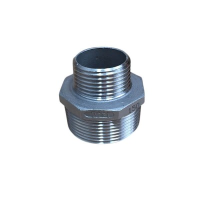 40mm X 25mm Hex Nipple BSP Stainless Steel 316 150lb