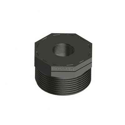 40mm X 25mm Poly Bush Threaded
