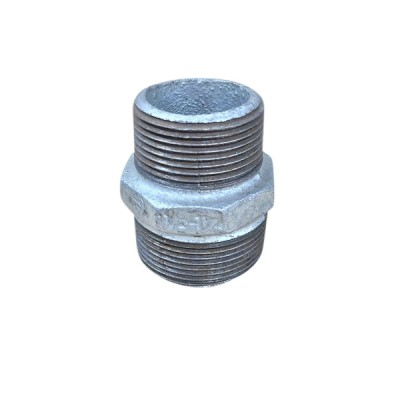 40mm X 32mm Galvanised Hex Nipple Reducing