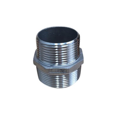 40mm X 32mm Hex Nipple BSP Stainless Steel 316 150lb