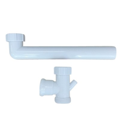 50 X 400mm Double Bowl Connector Pvc Caroma
