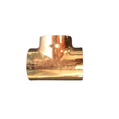 50mm Copper Tee Equal