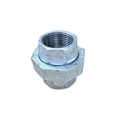 50mm Galvanised Barrel Union BS F&F
