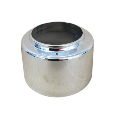 50mm Raised Cover Plate Flange Chrome Suit PVC 17469