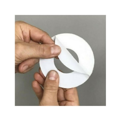 50mm Round Flat Cover Plate Self Adhesive Suit Pvc Dwv