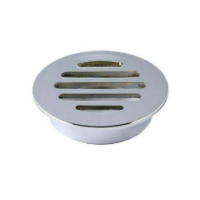 50mm Shower Floor Grate Cp Round Drop In Suit Pvc
