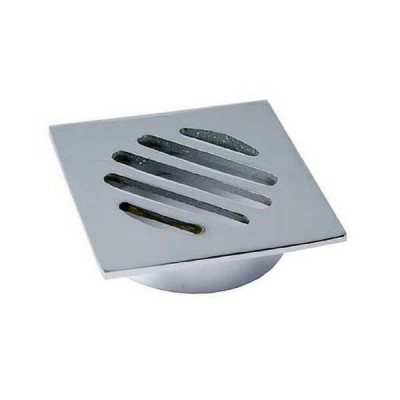 50mm Shower Floor Grate Cp Square Drop In Suit Pvc