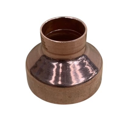 50mm X 25mm Copper Reducer M x F High Pressure Capillary