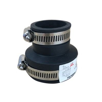 50mm X 32/40mm Flexible Rubber Connector Suit Pvc Copper Galv