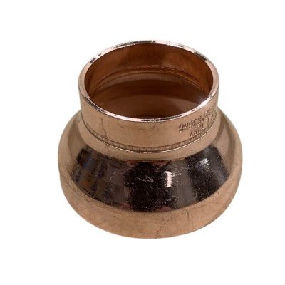 50mm X 32mm Copper Reducer M x F High Pressure Capillary