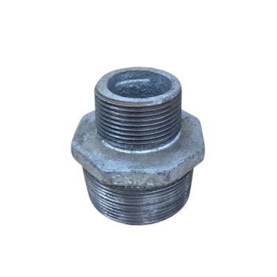 50mm X 32mm Galvanised Hex Nipple Reducing