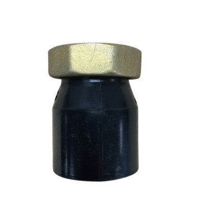 50mm X 40Fi Female Connector Brass Nut HDPE