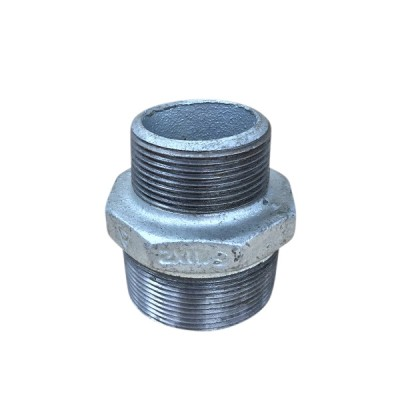 50mm X 40mm Galvanised Hex Nipple Reducing