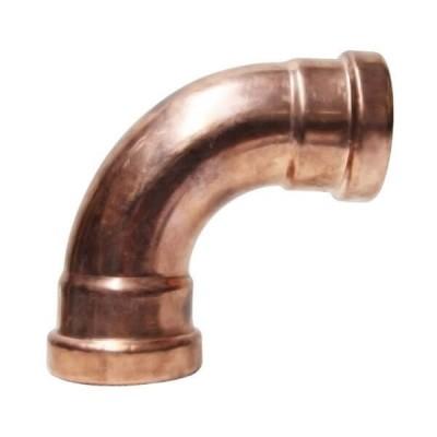 80mm Elbow 90 Deg Gas Copper Press