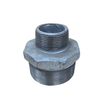 65mm X 40mm Galvanised Hex Nipple Reducing