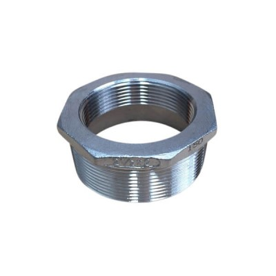 65mm X 50mm Bush Reducing BSP Stainless Steel 316 150lb