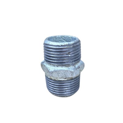 80mm Galvanised Hex Nipple