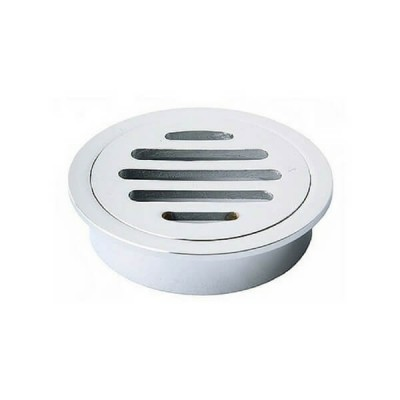 80mm Shower Floor Grate Cp Round Drop In Suit Pvc