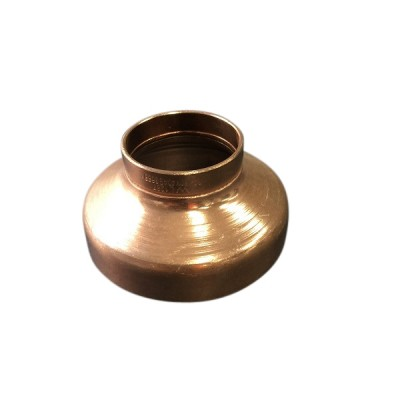80mm X 50mm Copper Reducer M&F