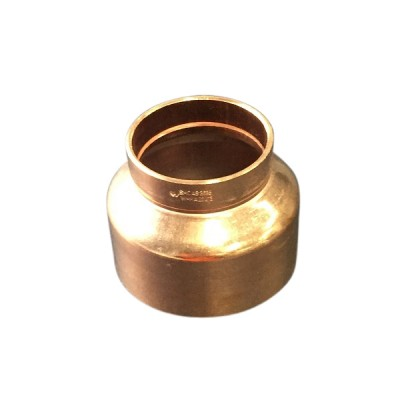 80mm X 65mm Copper Reducer M&F