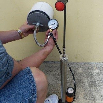 Air & Water Testing Gauge And Hose Kit PTG