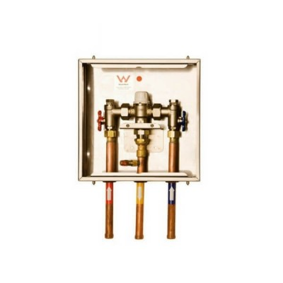Aquablend 1000 Mixing Valve in 3 Hole Lockable Cabinet Enware ATMS710E